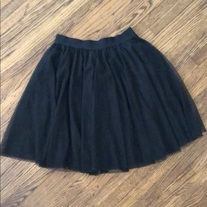 Black Lauren Conrad Skirt